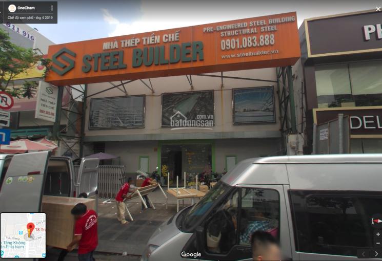 Cho thuê 18 Trường Sơn, phường 2, Quận Tân Bình; DT 14x16m; trệt + 2 lầu