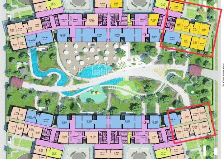 Cho thuê MBKD tầng 1, 22m2, 44m2, 55m2, 70m2, 90m2, 150m2, dự án Imperia Sky Garden, 0913484047