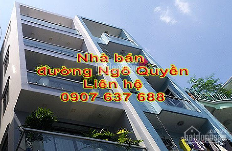 Bán nhà hẻm xe hơi Ngô Quyền, Phường 5, Quận 10, DT 4 x 15m, 8 phòng ngủ, liên hệ 0907637688