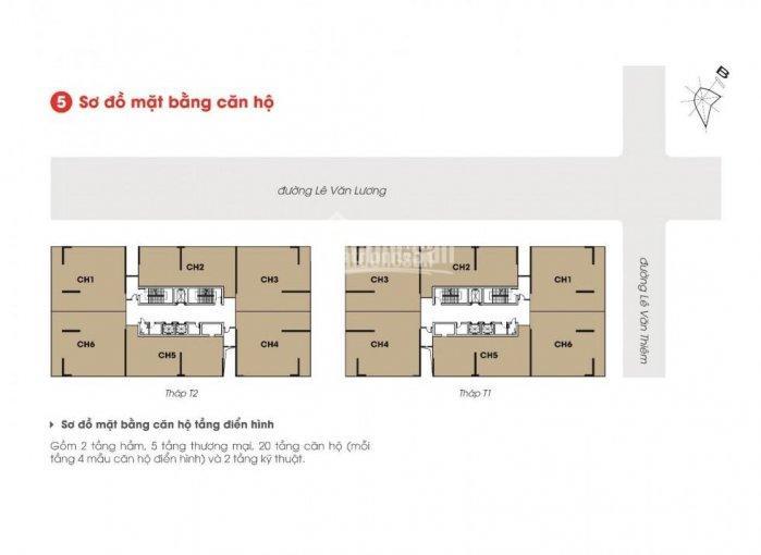 Bán căn 01 và 06 tháp 1 chung cư Times Tower ban công Lê Văn Lương và Lê Văn Thiêm, giá 32 tr/m2