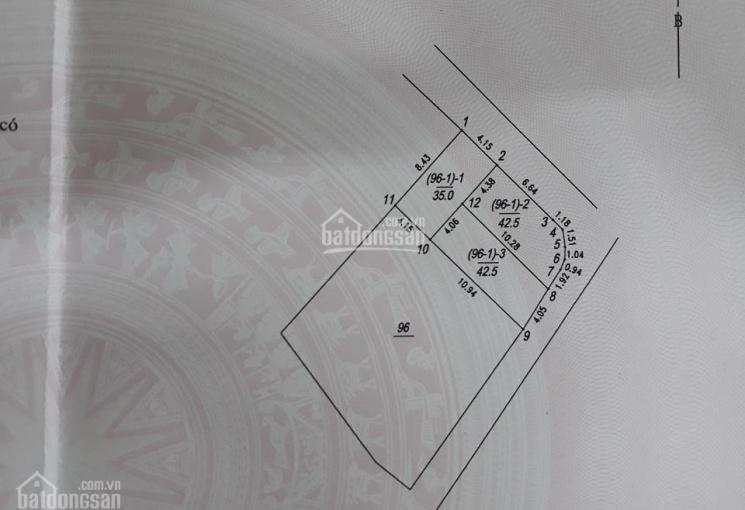 Bán đất thổ cư phường Phúc Đồng DT 42,5m2 nở hậu hướng Đông Nam và Đông Bắc, giá 2,35 tỷ