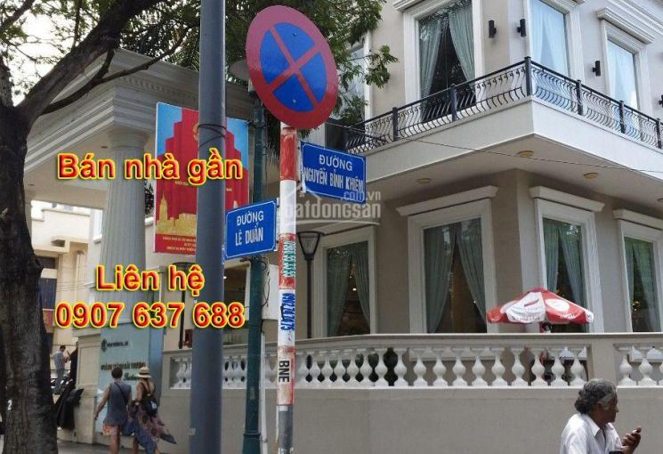 Bán nhà đường Nguyễn Bỉnh Khiêm, Quận 1, DT 4x18m, 21 tỷ 5, liên hệ: 0907637688