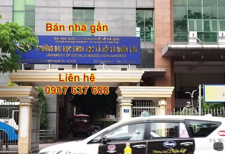 Bán nhà hẻm xe hơi Nguyễn Bỉnh Khiêm, Quận 1, 4m x 18m, ở ngay, tiện kinh doanh, LH: 0907637688