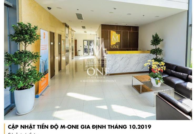 Chính chủ cho thuê căn hộ M-One Gia Định (căn góc 74.10m2) nội thất cơ bản giá 13 triệu/tháng