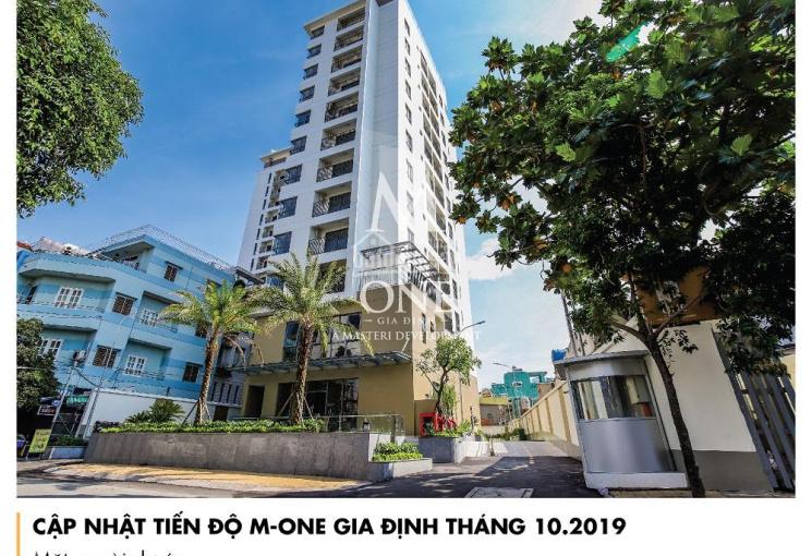 Chinh chủ cho thuê căn hộ 2 phòng ngủ 74.10m2 dự án M-One Gia Định, Gò Vấp