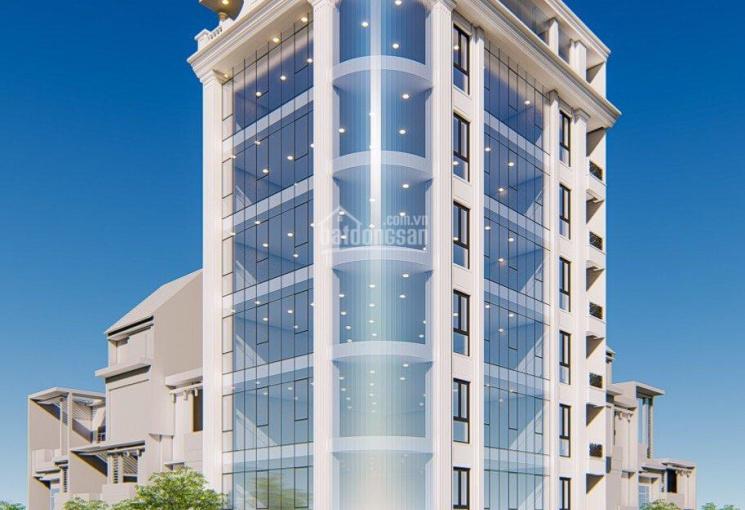 Bán tòa văn phòng 9 tầng mặt phố Phạm Tuấn Tài. Giá = 62 tỷ, LH: 0942 645 234