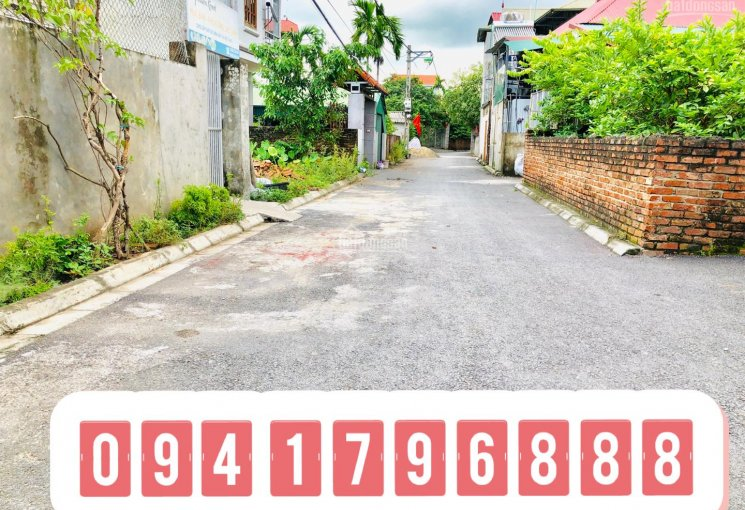 Bán nhanh mảnh đất TC tại Đào Xuyên, Đa Tốn, Gia Lâm, Hà Nội, đường ô tô tải cách trục chính 10m