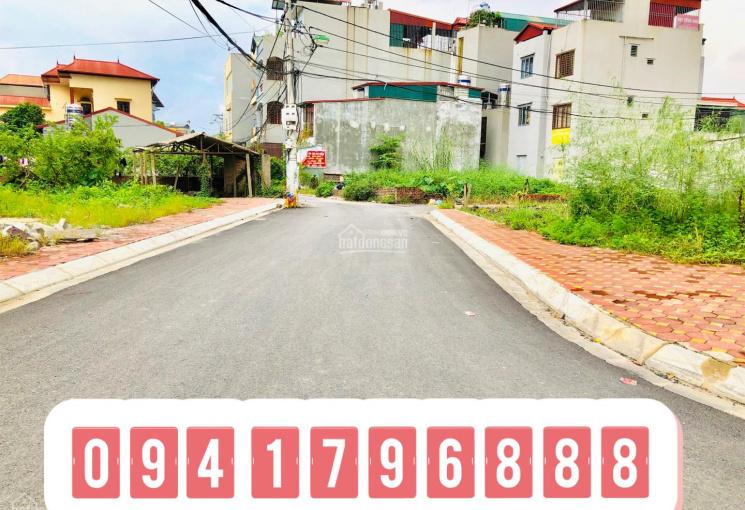 Bán 63m2 đất thổ cư đối diện trường học tại Đông Dư, Gia Lâm, Hà Nội đường ô tô tải vào nhà