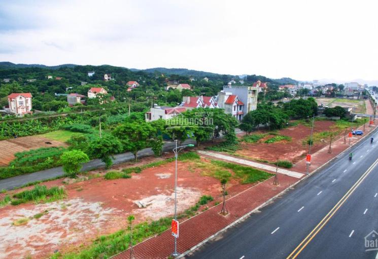 Chính chủ rao bán lô L07 mặt tiền đường quốc lộ 18 diện tích 140M2 giá 13.8tr