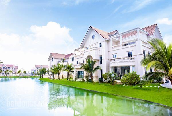 Bán biệt thự đơn lập nhỏ xinh KĐT Vinhomes Riverside, full đồ, view vườn hoa, giá chỉ 18 tỷ
