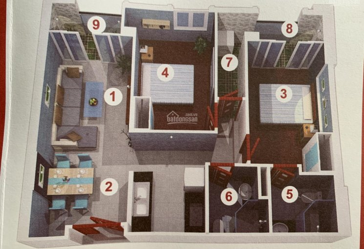 Bán căn hộ Terra Royal 4,8 tỷ (đã VAT)/CH, KS Terra Royal MT Nam Kỳ Khởi Nghĩa - Lý Chính Thắng