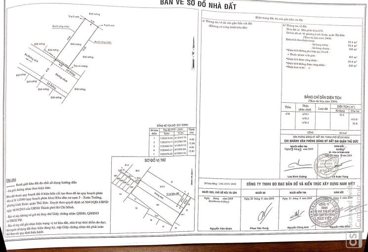 Đất dự án đã có sổ hồng riêng đường 8, Linh Xuân, Thủ Đức, chỉ còn vài lô, gọi ngay 0789 3456 51