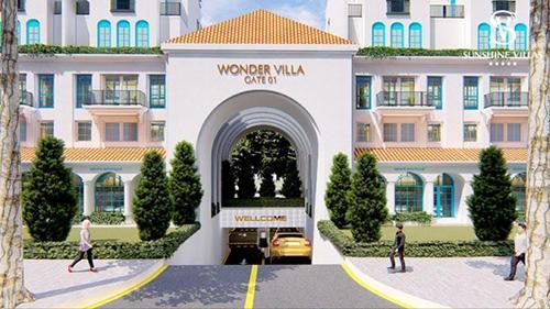 Bán biệt thự nghỉ dưỡng Sunshine Wonder Villas đầu tiên trong nội đô cơ hội nhận đến 5 cây vàng