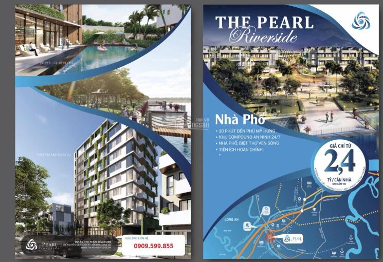 Bán nhà phố liền kề khu compound gần dự án Waterpoint, 1 trệt, 3 lầu, giá 2,4 tỷ. LH: 0909599855