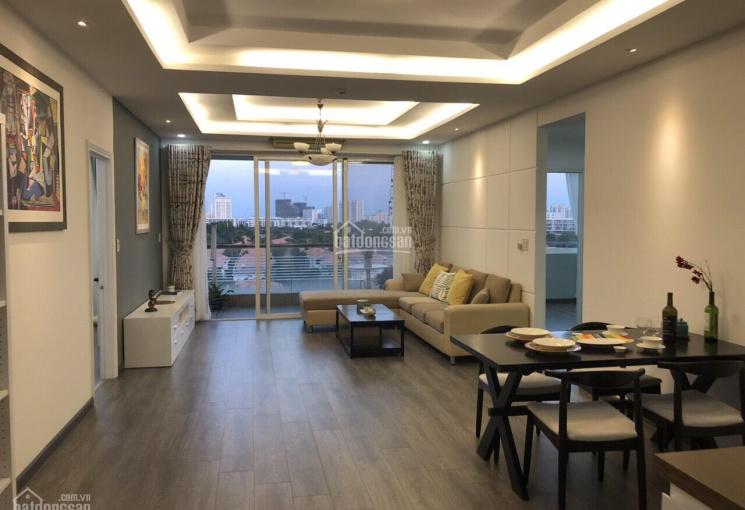 Cần tiền bán nhanh căn hộ Riverside Residence PMH 180m2 view sông, giá 6.9 tỷ vào ở liền 0916427678