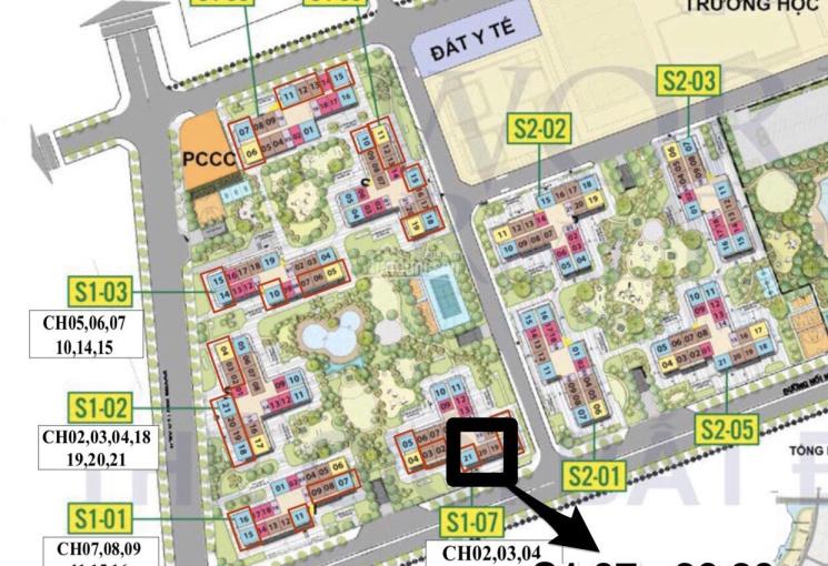 Chính chủ bán căn hộ 2PN+1WC, giá gốc 2.092tỷ (VAT+PBT) Vincity Q9 toà S1.07 view sông tắc hướng ĐN