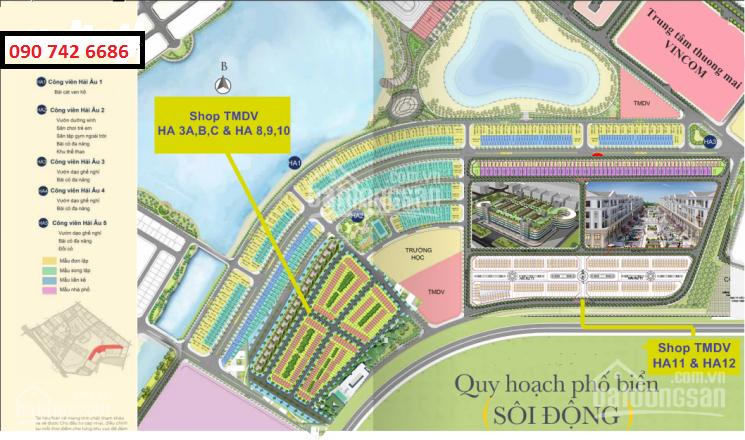 Shophouse thương mại DV khu Hải Âu dự án Vinhomes Ocean Park giá tốt nhất, chỉ từ 7 tỷ, 0907426686