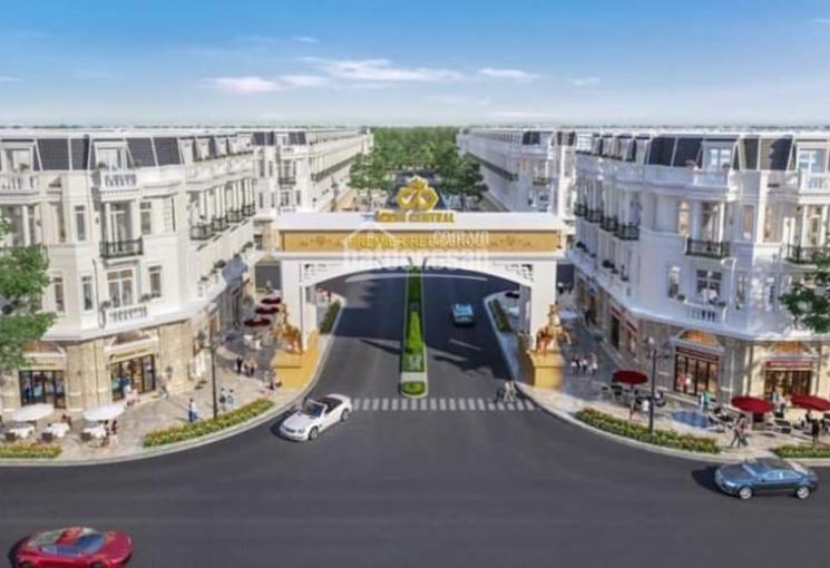 Bán nhà mặt phố, 4 mặt tiền tại trung tâm Dĩ An, nằm gần khu VSIP. LH: 0909530038