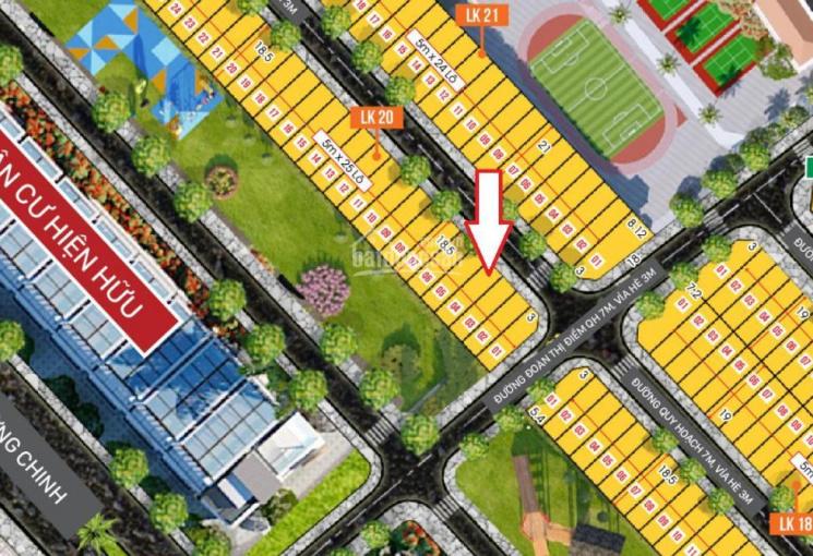 Bán lô đất LK20 trong dự án Maris City - Khu dân cư Phước Thạnh, Phường Chánh Lộ, Tp Quảng Ngãi