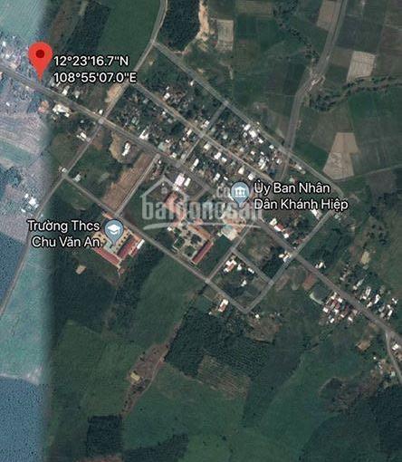 1000m thổ cư Huyện Khánh Vĩnh Xã Khánh Hiệp chỉ 350tr kv dân cư, trung tâm xã