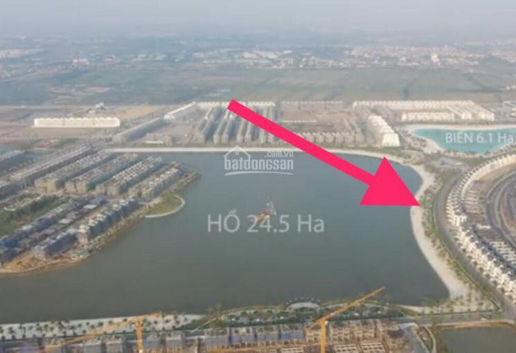 Cần tiền bán gấp căn biệt thự mặt hồ Vinhomes Ocean Park khu Hải Âu HA1 giá 35 tỷ, LH: 0981.804.598