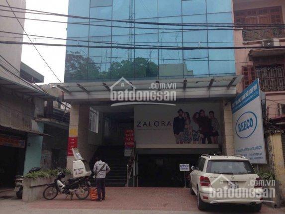 Bán tòa văn phòng 9 tầng phố Hoàng Ngân, DT 171m2 giá 68 tỷ, LH 0984250719