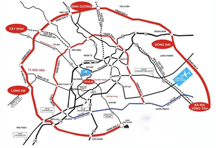Bán 8 hecta đất sản xuất huyện Long Thành, vị trí gần cảng, đường Quốc lộ, sân bay. Giá 14 tỷ/hecta