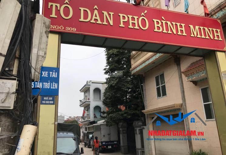 Bán nhà 3 tầng diện tích 30m2 TDP Bình Minh, Trâu Quỳ, Gia Lâm. LH 097.141.3456