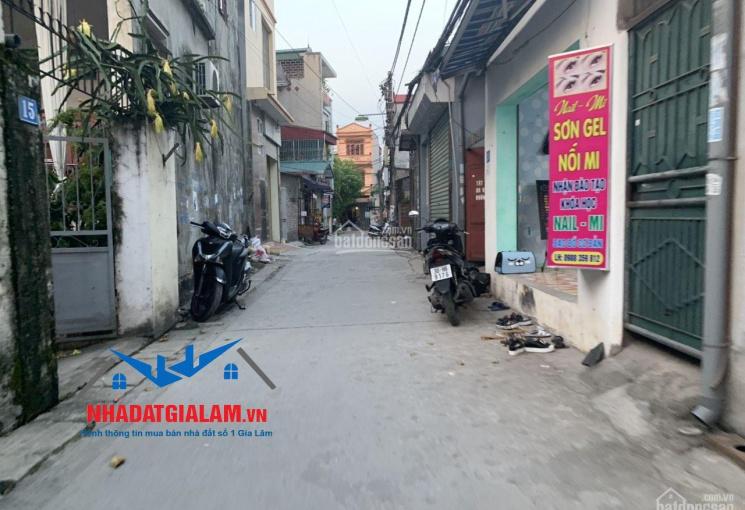 Bán 75m2 đất đường ô tô TDP Đào Nguyên, Trâu Quỳ, Gia Lâm, LH 097.141.3456