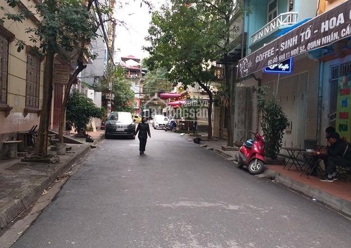 Bán gấp nhà mặt ngõ phố Hoàng Ngân, Trung Hòa, Cầu Giấy 50m2 x 6,5 tầng mới tiện để KD, giá 12 tỷ