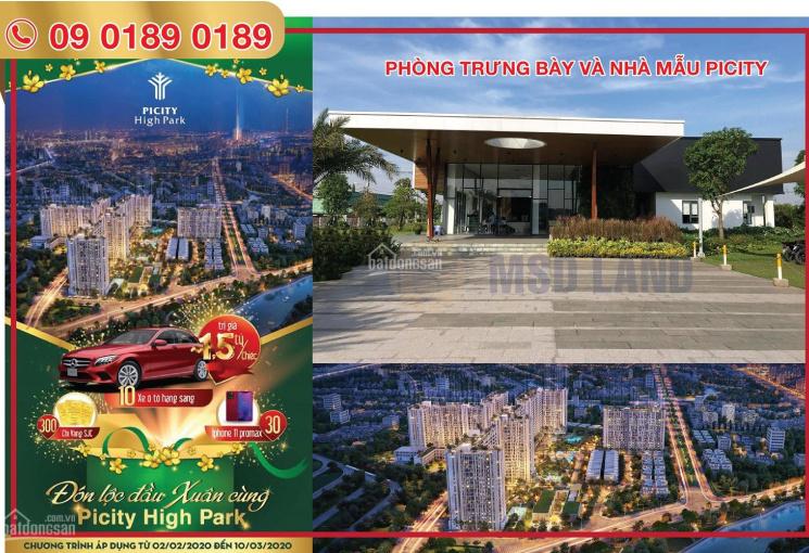 Mở bán căn hộ Picity High Park ngay ủy ban Quận 12 - pháp lý hoàn thiện - Liên hệ 09.0189.0189