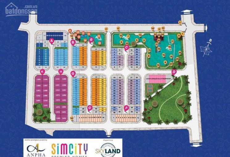 Nhà Phố Simcity Quận 9, diện tích 5x16m, giá 4.4 tỷ (nhận nhà ngay)