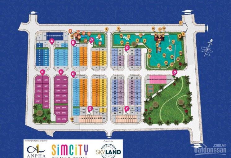 Chính chủ bán nhà phố Simcity, giai đoạn 2, diện tích 5x16m, giá 4 tỷ 6 (có TL)