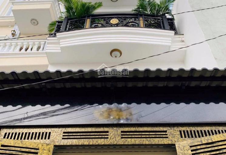Nhà phố siêu sang nằm sau căn MT đường Phạm Văn Chiêu, DT: 4x19m đúc 1 lửng, 3L. Giá 7,95 tỷ TL