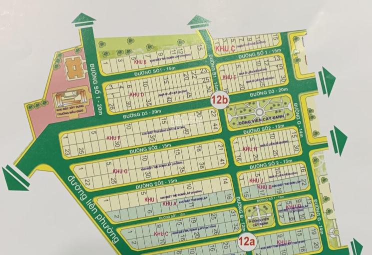 Bán 1 số lô đất KDC Hưng Phú 1, Quận 9, dự án vị trí đẹp để ở, LH 0914.920.202