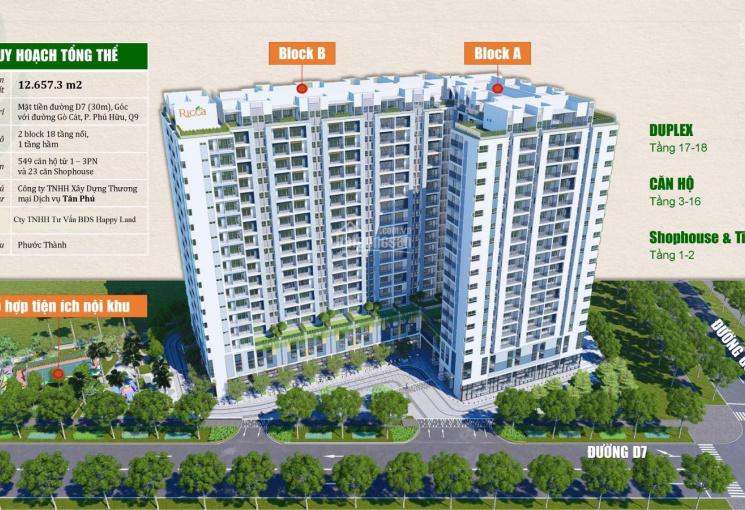 Bán căn hộ Ricca quận 9, view đẹp, giá tốt, A - 5 - ... Chênh lệch nhẹ chỉ 60 triệu, gọi 0903688085