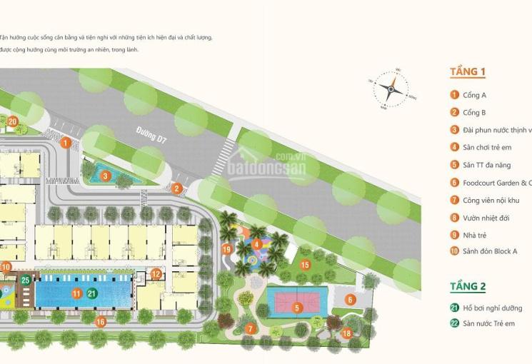 30 căn Ricca đẹp nhất dự án 1 - 3PN, view đẹp, có sân vườn, giao nhà hoàn thiện, chỉ TT 530 triệu