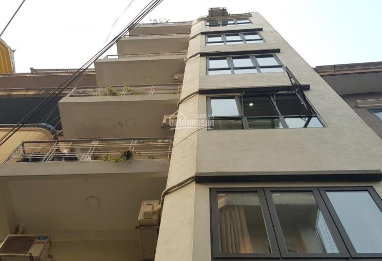 Bán nhà (DT 96m2 xây 7 tầng) doanh thu 100 triệu/tháng, đường Nghi Tàm, ngõ ô tô, gần Hồ Tây