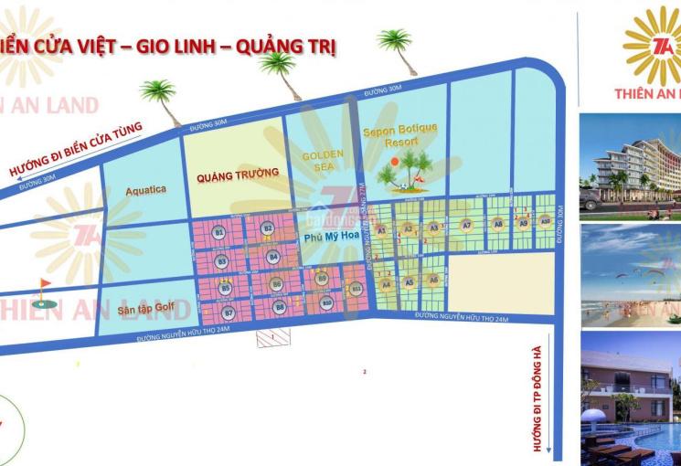 Bán đất bãi biển Cửa Việt, Quảng Trị, DT: 10x20m, giá từ 1.89 tỷ /1 lô, LH 093.1195.888