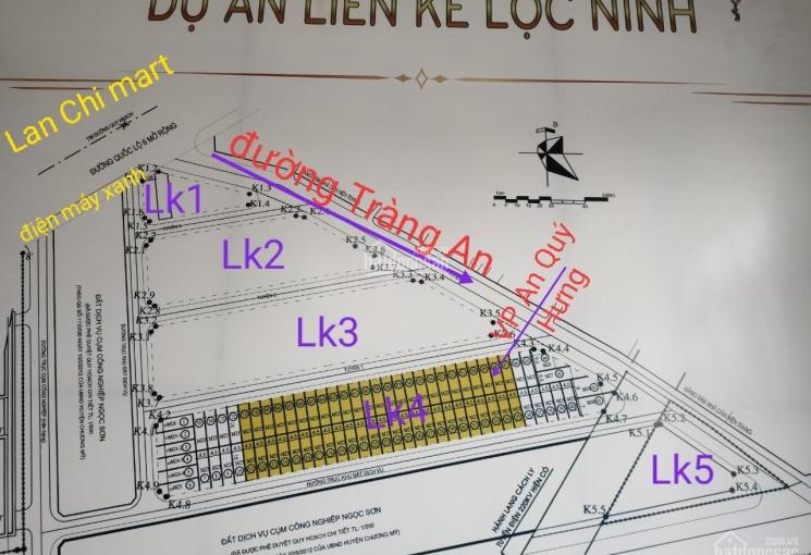 Quỹ căn đợt cuối LK4 - An Quý Hưng - dự án KĐT Lộc Ninh - LH thông tin PKD - 0388.405.089
