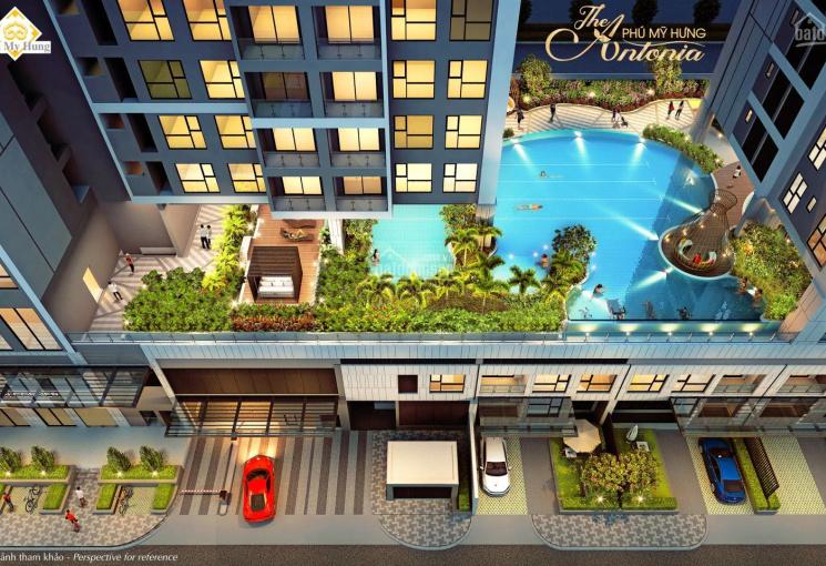 Bán CHCC The Antonia Phú Mỹ Hưng nội thất cao cấp, view biệt thự đẳng cấp, giá gốc LH 0912 59 55 19
