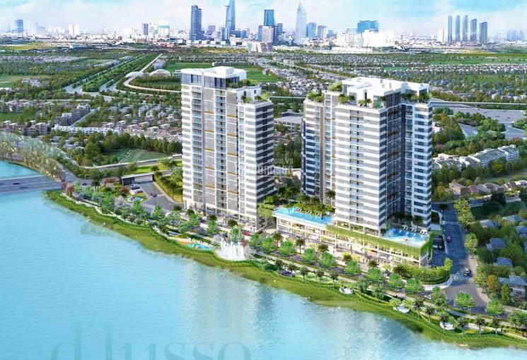 Tôi chủ nhà bán 4 căn hộ D'Lusso Q2, view sông, công viên. Chiết khấu 2%, tặng máy lạnh, nước nóng