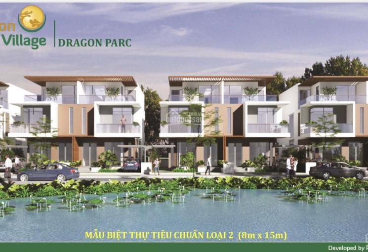 Chính chủ bán biệt thự song lập Dragon Village Quận 9, mặt hồ sinh thái 3800m2 giá rẻ nhất khu vực