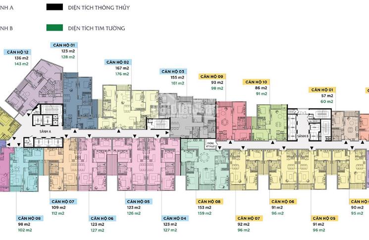 Chính chủ cần bán căn hộ 3PN dự án Sun Grand 69 Thụy Khuê. 0915 696569