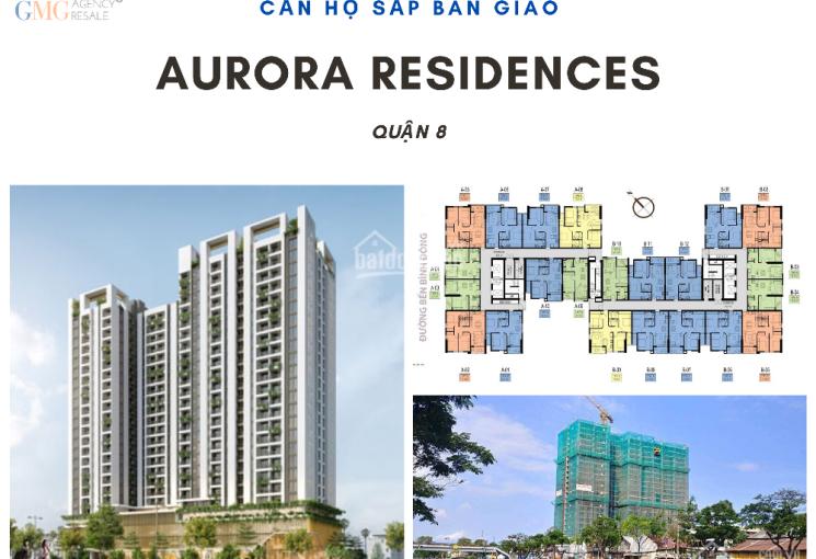 Bán căn hộ 1PN và 3PN Aurora Bến Bình Đông Quận 8 giá hợp đồng 1,360 tỷ chênh nhẹ