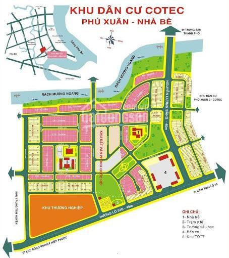 Bán nền Cotec Phú Xuân A9/18 DT 130m2 hướng Tây Bắc(5x26m) giá chỉ 28tr/m2. LH 0938940890