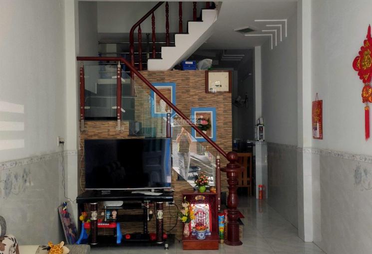 Nhà phố 3 tầng, hẻm xe hơi, DT 3.6x13m, gần ngã tư Võ Văn Kiệt, An Dương Vương, chỉ 3,65 tỷ