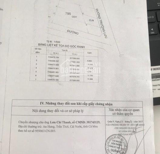 Bán đất MT Trường Lưu, Quận 9, 184m2, giá 7,5 tỷ
