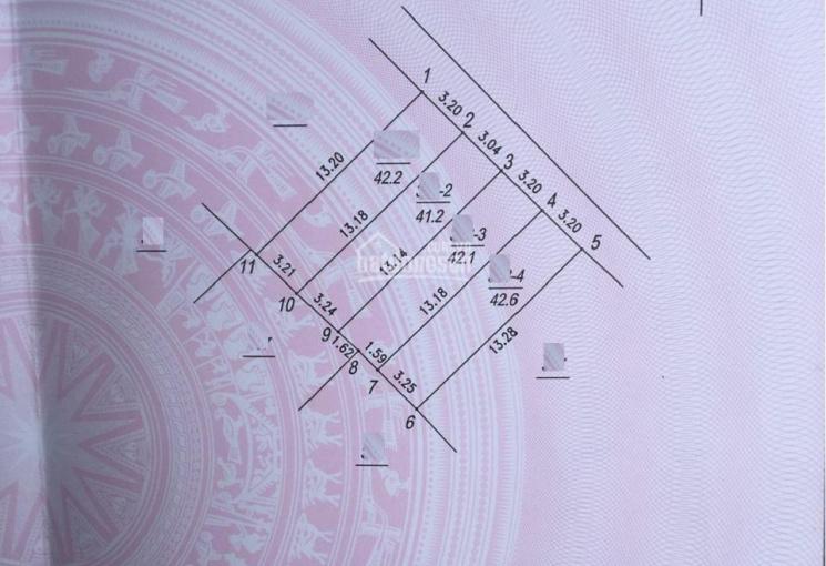 Bán 42.6m2 đất thổ cư Phúc Đồng, hướng Đông Bắc ngõ 2,2m ô tô đỗ cổng giá 1,98 tỷ