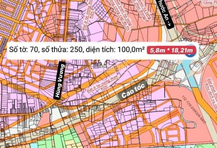 Đất gần cảng Phước An, gần cao tốc, gần khu dân cư giá 820tr/100m2, LH 0938253386